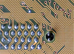 image of a circuit board's labyrinth