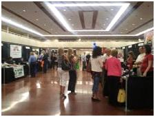 Exhibit Hall at TECHNOPALOOZA