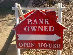 Bank Owned Open House Sign