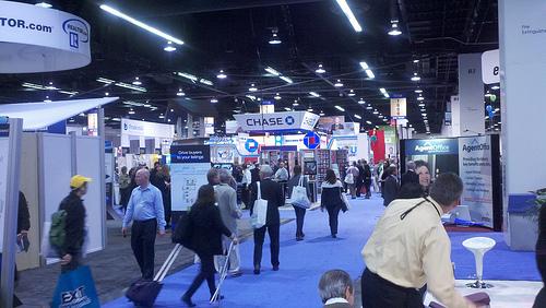 #NARAnnual Expo Floor - Anaheim 2011