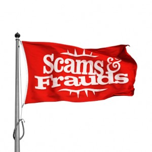 Scams & Frauds Flag