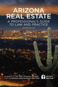 "Cover of Second Edition of ""Arizona Real Estate"""