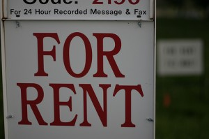Fore Rent Sign