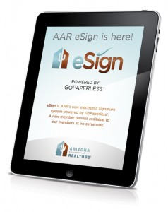 AAR eSign App now available for free from the Apple App Store