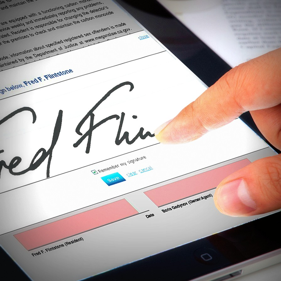 New Feature From AAR ESign: Wet Signature