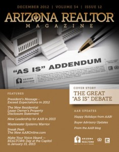 Arizona REALTOR Magazine December 2012