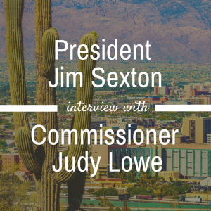 Jim Sexton interview with Commissioner Judy Lowe