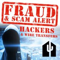 Fraud alert email hackers