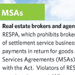 Market Services Agreements