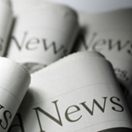 News headline in newspapers