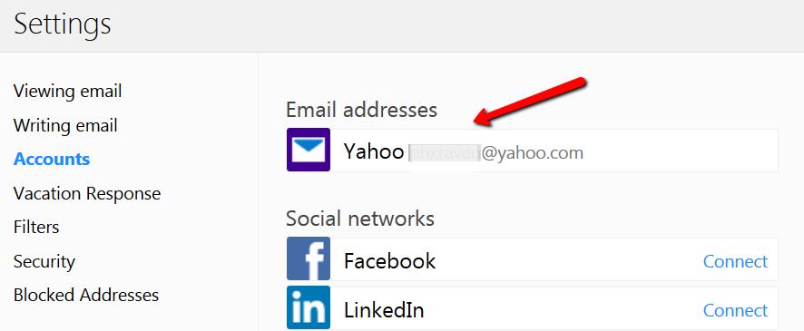Yahoo auto forwarding 3